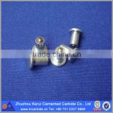 Tungsten carbide tire studs spikes, steel body with carbide tips