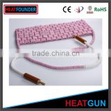 NEW DESIGN HIGH TEMPERATURE RESISTANCE CERAMIC HEATER PAD FOR INDUSTRIAL HEATING IN STOCK