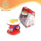 Baby hamburg around circle rattle, baby rattle, baby bell, baby toys