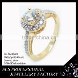 in stock custom wholesale new model rose gold wedding ring