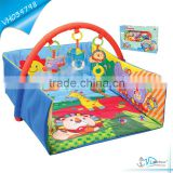 Eco-friendly Indoor Kids Soft Play Mat with Sides