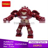 Decool bricks 0181 SuperHero Iron Man HULK BUSTER robot Minifigure Building bricks Blocks Toys