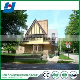 Economic steel frame apartment china supplier light steel villa steel structure building