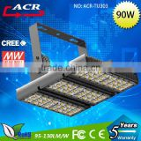 bridgelux 45MIL led tunnel lights from china 90w led industral tunnel light,led flood light,led high bay light