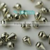 Fashion crystal rivet with cap coat alloy metal button for garment