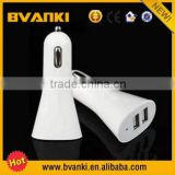 2015 new products cheapest Promotional car accessories Dual Ports USB Car Charger As Festival Gift