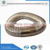 Fire Resistant Semi-rigid Stainless Steel Flexible Duct for Industry