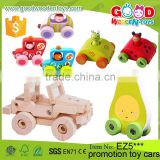 2016 New Design Funny Toy Children Mini Wooden Car Toys OEM/ODM Kids Games Promotion Toy Cars for Kids                                                                         Quality Choice