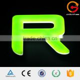 low price led lighting acrylic front-lit alphabet letter design Sichuan                                                                                                         Supplier's Choice