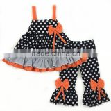 Wholesale lovely girls clothes polka dot sleeveless holloween costumes baby clothes                                                                         Quality Choice