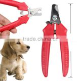 Pets Cat Red Pet Dog Toe Nail Clipper Grooming Trimmer Cat Dog Scissors Stainless Steel Blade Cutter
