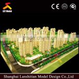 3D Beautiful Architectural Model Maker ABS Plastic For Residential Building Planning