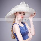 Philippines Sinamay Straw Hats For women Wholesale Lady Church Hat                                                                         Quality Choice