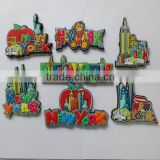 New York Magnet the Statue of Liberty Fridge Magnet the Empire State Building PVC Magnet
