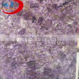 Semi Precious Stone purple Agate Slab For Home Decoration
