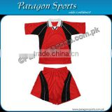 Red and Black Soccer Uniform