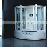 Steam shower room shower cabin shower enclosure with spa massage bathtub G152