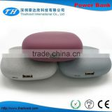 Free sample power bank 4400mah power bank stone shape power bank with gift box CE FCC ROHS