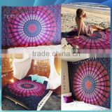 indian printed tapestry wholesale mandala elephant, mandala tapestry                                                                         Quality Choice