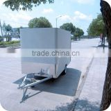 2013 Hot and Popular New Stainless Steel Electric Square Tube Food Display Trailer Bus for Sale XR-FV300 A