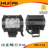 "High quality Spot Beam in Stock 4"" 18w double row offroad 4x4 led light bar for UTV ATV Boat"