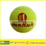 Rebound over 130 cm polyster tranning Tennis ball