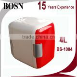 2016 BOSN 4 Liters Factory Direct Sale 110v table top mini freezer for Office
