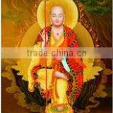 Glossy Pure Cotton inkjet Canvas for budda canvas printing