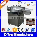 Factory price selling bottle unscrambler/pet bottle unscrambler machine/pet bottle turntable