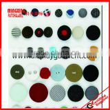 high fashion black fabric covered button, button for clothes,shoes