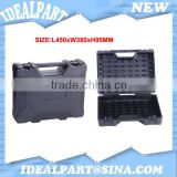 HDPE plastic tool box with dividers