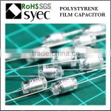 Factory Brand Axial Lead 82pF 50V Polystyrene Film Capacitor