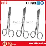 Clamp scissors surgical instruments