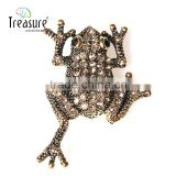 Fashion Treasure alibaba china supplier yiwu wholesale jewelry unique fashion diamond animal brooch