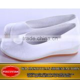 White color wholesale unique woman nurse shoes from China                                                                         Quality Choice