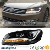 12V Head Lamp LED Car Headlights For Korea North America Volkswagen VW Passat B7 2010 2011 2012 2013 Head Light