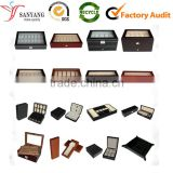 Package box MANUFACTURER custom various wood leather paper single multiple watch packaging box case carriage