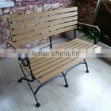 metal chair, steel folding bench , BBQ furniture