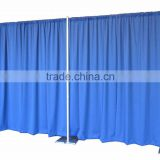 Pipe and Drape Backdrop 8ft x 20ft for photo booth enclosure(No Drapes (Framework Only))