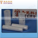 STCERA zirconia ceramic fiber insulation pipe acid resistant ceramic round pipe
