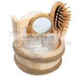 Natural Wooden bathroom accessories