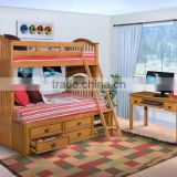 child bed, colorful child bunk bed, child bed with storage