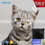 Colorful cat toilet sand mineral cat litter natural shaped