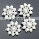 Cheap Flower Shape Shank Pearl Fancy Buttons Wholesale RNK111