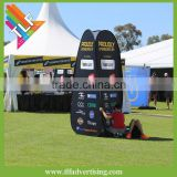 Tower pop up flex banner stand,vertical spring fabric display                                                                         Quality Choice