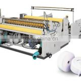 Newest high quality Small bobbin paper perforated slitting/reeling paper double-use machine