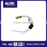 China wavelength customized low consumption more then 10,000hrs diode module,200mw green laser diode module
