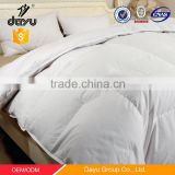 Wholesale hotel white plain duck goose down quilt printed down quilt duvets bedding set china supplier custom quilt