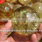Rare Stunning Natural Citrine QUARTZ Crystal HEALING Ball