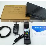 good quality satellite receiver V8 combo with DVB-S2&DVB-T2,support 3G wifi modules